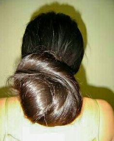 Thick and wrapped. Bun Hairstyles For Long Hair, Rapunzel, Updos, Buns, Braids, Long Hair Styles, Beautiful, Beauty, Bun Hairstyle