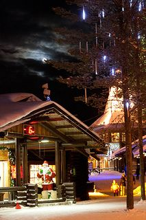 Santa Claus Village at the Arctic Circle in Rovaniemi, Lapland | by Andrey O!