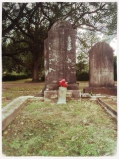 Melodie lens / Dreamy film / Cherry Shine flash     @ Metairie Cemetery