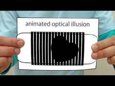 Animated optical illusion tutorial with plan