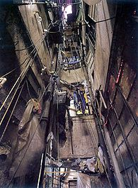 """Kowloon Walled City: Inspiration for """"Wharf"""" in the Black Planet books. http://upload.wikimedia.org/wikipedia/en/thumb/b/ba/KowloonWalledCityAlley2.jpg/195px-KowloonWalledCityAlley2.jpg"""