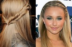 Cool Braids For Short Hair | Top knots always look great on thick hair. Since your hair is so ...