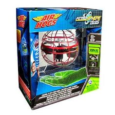 You are the controller with the Air Hogs Atmosphere Axis. This powerful levitating sphere requires no remote control and hovers above any surface using its patented Wave Control technology. It is simple to operate - you can control it with the palm of your hand, use the included catch stick or watch it fly autonomously in any space. Sold at department stores for $15 and up, you can get it here at Five Star Liquidation for only $10.49!