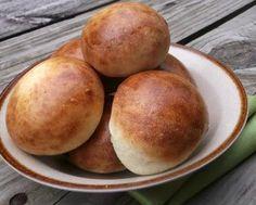 Hamburger Recipes : Buttermilk Hamburger Buns