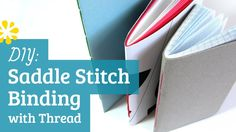 DIY Saddle Stitch Bookbinding Tutorial | Sea Lemon