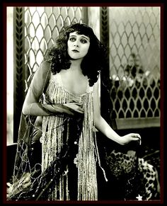 Theda Bara as Cleopatra by CharmaineZoe, via Flickr