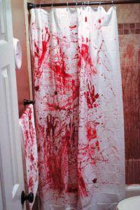 Halloween Decoration Murder Scene