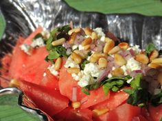 Watermelon salad - Recipe by Briana Santoro
