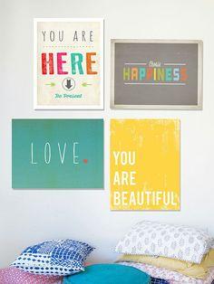 Happiness Print Set