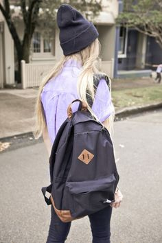 Backpack & hat