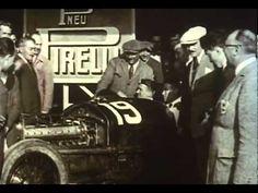 Vintage Racing - Very old film footage from pre-war racing