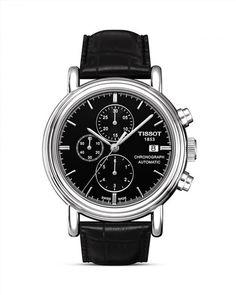 795.00$  Watch now - http://vivxh.justgood.pw/vig/item.php?t=tr8w8lx45932 - Tissot Carson Men's Black Automatic Chronograph Classic Watch, 43mm 795.00$