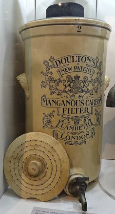 [48315] Kew Bridge : London Museum of Water & Steam - Doulton's Manganous Carbon Filter