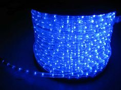 LUISHA 100ft Blue 13mm LED Flexible Rope Light Kit for Indoor  Outdoor Lighting Home Garden Patio Shop Windows Christmas New Year Wedding Birthday Party Event * Want to know more, click on the image. (This is an affiliate link) Christmas Rope Lights, Holiday Lights, Southern Living Christmas, Pvc Tube, Shop Windows, Living Styles, Christmas And New Year, Save Energy, Outdoor Lighting