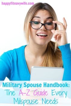"""Military Spouse Handbook: The A-Z Guide Every Milspouse Needs"""