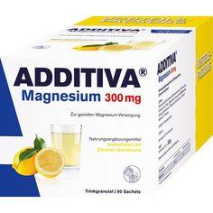 ADDITIVA Magnesium 300 mg N Pulver:   Packungsinhalt: 60 St Pulver PZN: 10933655 Hersteller: Dr.B.Scheffler Nachf. GmbH & Co. KG Preis:…