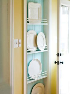 Plate Rack For Storing All Those Large Platters That Don 39 T Fit