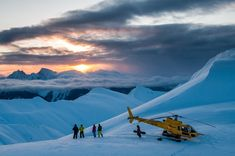 Photo from Last Frontier Heliskiing: Heli Heaven, taken at  7:41 am  2 Jan 2013 by Steve Rosset