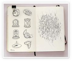 Absolutely incredible! I could look at this artist's journals for hours! Hats off to the artist at behance.net