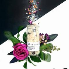 Whole Apothecary Floral Bath Soak. Indulge your skin and your senses.
