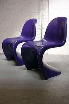 Warped seating - panton chair