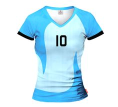 ACTIVE Argentina Volleyball Woman's Jersey With Custom Name and Number