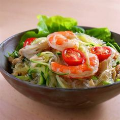 さっぱり味のタイ風春雨サラダ  |  あさこ食堂