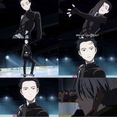 yuri!!! on ice | yoi | viktor nikiforov x katsuki yuuri | victuuri || << that one. Victuuri...my life just got better