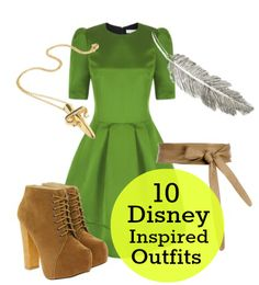 Classic Disney character outfits for the real world.  These outfits are so cute.  I think I could pull of the Alice one, although I LOVE the Tinkerbell one.