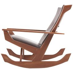 Shop rocking chairs and other antique and modern chairs and seating from the world's best furniture dealers. Wooden Sofa Designs, Upholstery Fabric For Chairs, Boat Design, Rocking Chairs, Diy Chair, Modern Chairs, Chair Design, Bed Frame, Cool Furniture