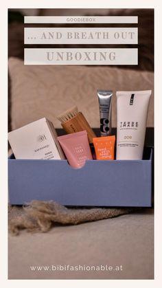"""Auch in diesem Monat bringt die Goodiebox wieder einige sehr spannende Produkte mit sich. Da das Thema der Box """"… and breath out"""" eignen sich die enthaltenen Produkte ausgezeichnet für ein wenig #meTime Neben einer Maske, findet sich auch eine Gesichtscreme, aber auch eine Gesichtsbürste zum Reinigen und Vitalisieren der Haut in der Box. Die Produkte haben einen Wert von insgesamt 122 € und das obwohl die Box selbst nur 19,95 € kostet. Monat, Grow Hair, Lifestyle Blog, German, Wellness, Beauty, Box, Inspiration, Prepping"""