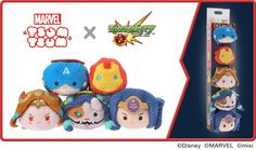 Marvel x Monster Strike Tsum Tsum box set is coming to Japan!