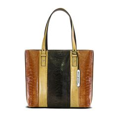 Medium over the shoulder bag with vertical paneling feature. (Please check with our showroom for the available colour variations) DIMENSIONS: Width: 30cm Depth: 11cm Height: 27cm Handle Height: 21c…