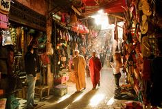 A trip to the busy markets of Marrakech is a must-do item on any travel lover's bucket list.