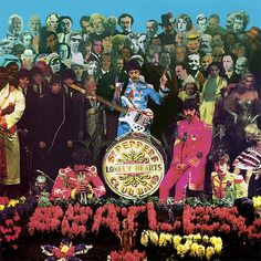 Sgt Pepper Cover shoot (between the cover shot)