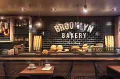 ... Cafe Interior Design : Excellent Bakery Petit Cafe Interior Design