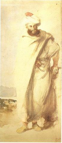E.Delacroix-Arabe au turban.jpg