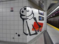 Perspective Subway Art - http://www.moillusions.com/perspective-subway-art/