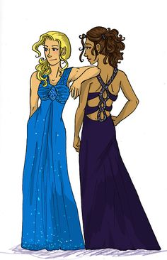Annabeth and Piper