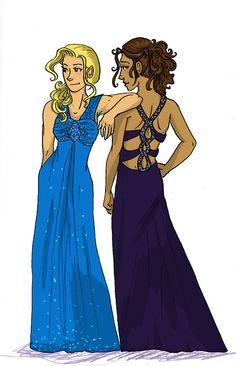 Annabeth and Piper