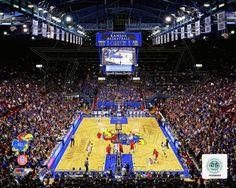 Allen Fieldhouse University of Kansas Jayhawks 2012