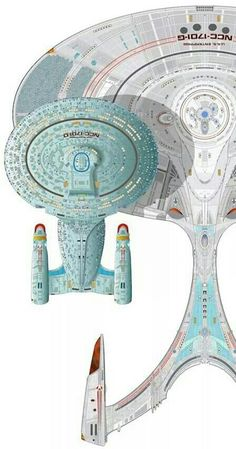 Enterprise G. She's a big mother. Trekkies around the world want to see another new Star Trek series probably based on the adventures of the crew of Enterprise F set in the 25th century.