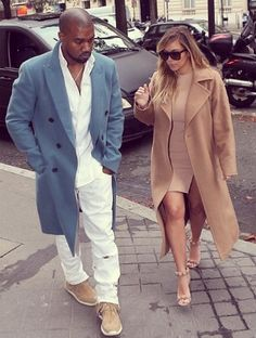 Such a trendy couple.