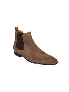 PS by Paul Smith Beige Falconer Suede Chelsea Boots