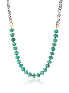 62% OFF Robindira Unsworth Turquoise Collar Necklace