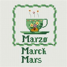 A cup of march