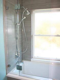 36 Harington Oak Vessel Sink Vanity Glass bathtub Shower
