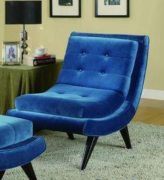 5th Avenue Armless Lounge Chair