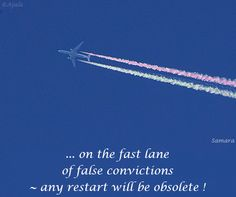 ... on the fast lane of false #convictions ~ any restart will be #obsolete !