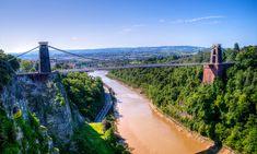 Go see the Clifton Suspension Bridge.